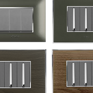 Lisha Metal Box Cover Plates